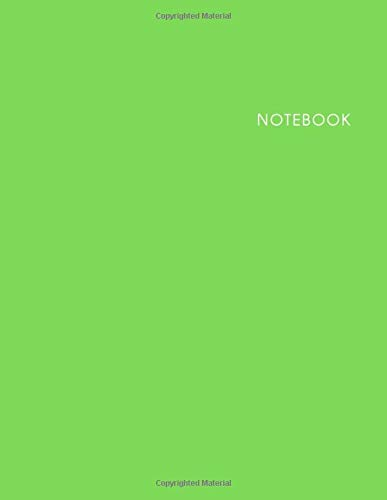 Notebook: Lined Notebook - Size (8.5 x 11 in) – 100 Pages-Cream Paper - Arctic Cover