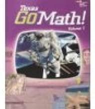Go Math! Texas: Student Edition, Volume 1 Grade 3 2015