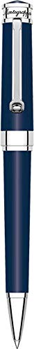 Montegrappa Bolígrafo'Parola Twist Open', color azul marino