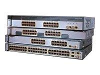 Cisco Catalyst 3750 - Switch - 24 ports - EN, Fast EN - 10Base-T, 100Base-TX + 2 x SFP (empty) - 1 U external