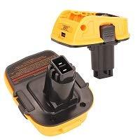 Product Image 3: DCA1820 Battery Adapter for Replace Dewalt 18V to 20V Tools Convert for Dewalt 18V NiCad & NiMh Battery Tools DC9096 DW9096 DC9098 DC9099 DW9099(USB Converter) (1 Pack)