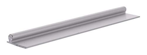 C.R. LAURENCE PLD1659 CRL Aluminum 96 Sliding Glass Door Replacement Rail