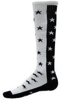 Red Lion Zenith Knee High Sock (Black/White - Medium)