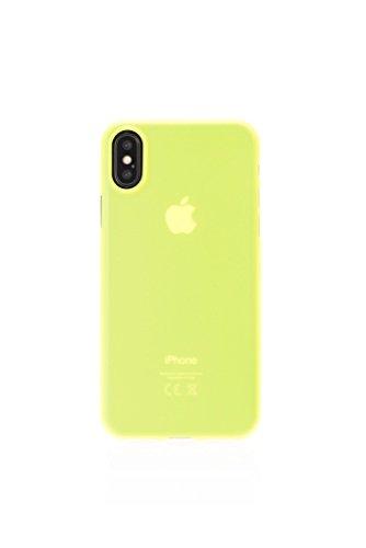 Aiino - Custodia Z3RO Ultra Slim per iPhone X/XS (Lime)