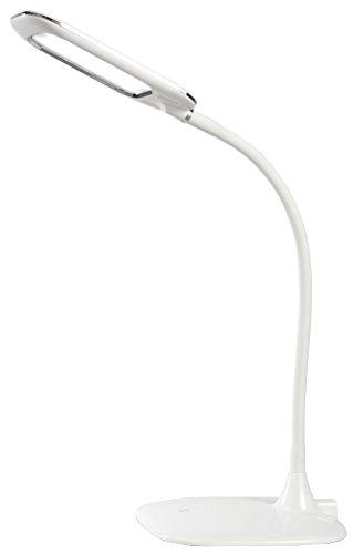 ESTO Lighting Tischleuchte, Kunststoff, 5 W, Weiß, 17.5 x 17.5 x 56 cm