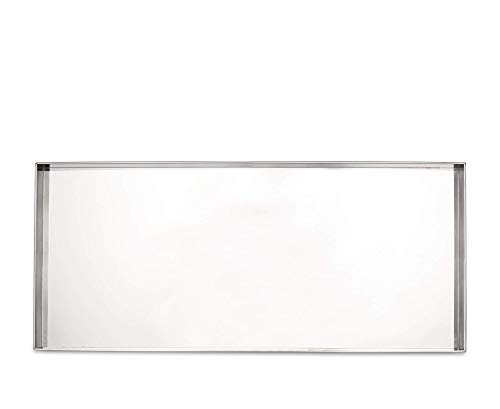 Calvin Klein Home Strata Collection Bath Accessories, Tray, Stainless Steel