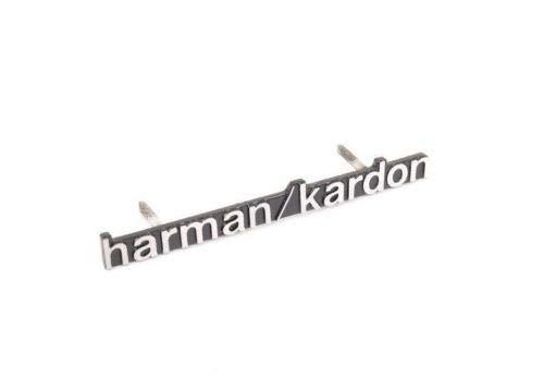 E W211 Lautsprecher-Emblem für die Vordertür, Harman/Kardon, Originalteil