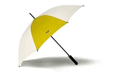 BMW Original Mini Regenschirm Stockschirm Contrast Panel Walking Stick Umbrella Energetic Yellow - Kollektion 2020