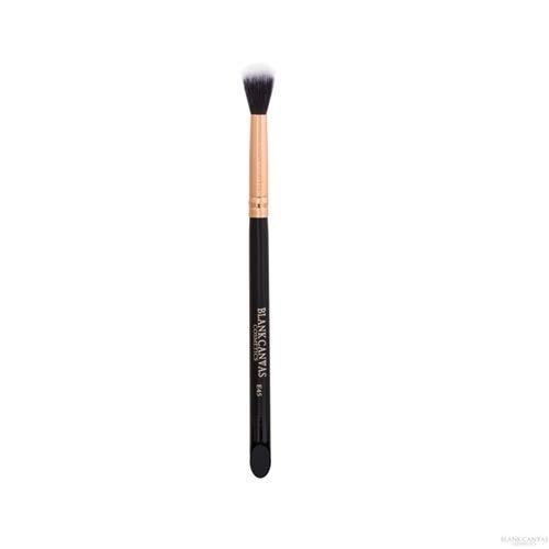 Blank Canvas E45 Brosse de maquillage multifonction Duo Fibre Blending Pinceau Visage Or Rose/Noir, Or Rose/Noir 1 Unités