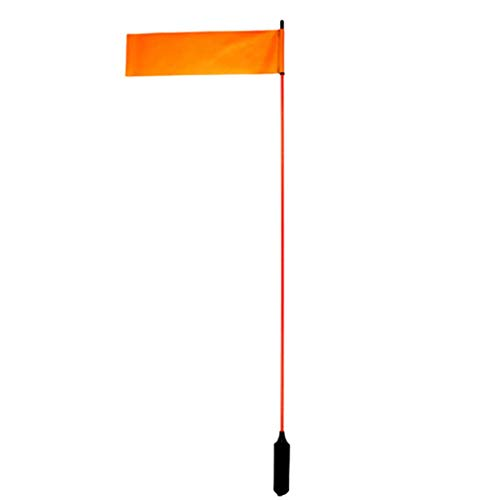 "Yakattack VISIFlag, 52"" tall mast with flag, Mighty Mount / GearTrac ready"