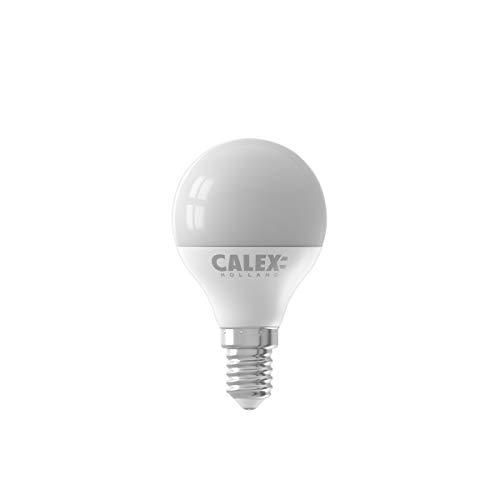Calex Bombilla LED tipo vela de cristal, 3 W, luz blanca cálida, talla única