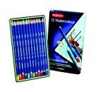 Derwent Highly Pigmented Non-Toxic Water Soluble Watercolor Pencil Set44; Set - 36
