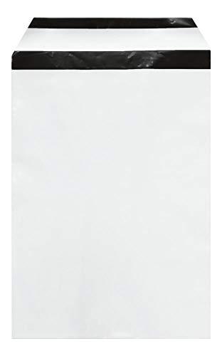 WeltiesSmartTools COEX Folien-Versandtaschen 60my 250x350 + 40 mm DIN B4 100 Stück Sicherheits-Permanentverschluß zum Aufbewahren und Verschicken von Textilien Dokumenten oder Wertsachen