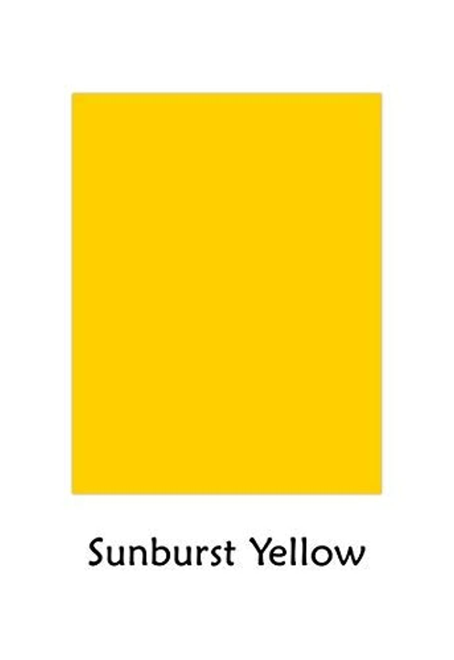 Premium Color Card Stock Paper | 50 Per Pack | Superior Thick 65-lb Cardstock, Perfect for School Supplies, Holiday Crafting, Arts and Crafts | Acid & Lignin Free | Sunburst Yellow | 8.5 x 11