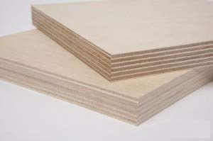 """3/4"""" (18MM) 24"""" x 48"""" Baltic Birch Plywood b/bb Grade one Clear face. (Box of 1)"""