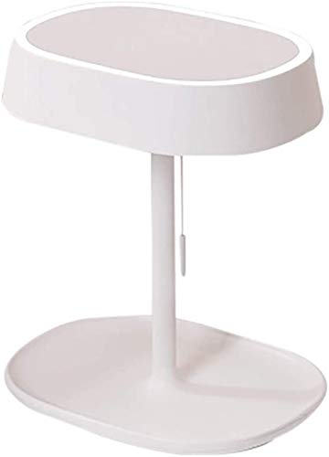 Make-upspiegel Tafellamp Intelligent Led-vullicht Kaptafel Spiegel Lichtspiegel Opberglade Enkelzijdig 180 graden vrije rotatie