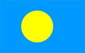 Palau Flagge 5'x3'