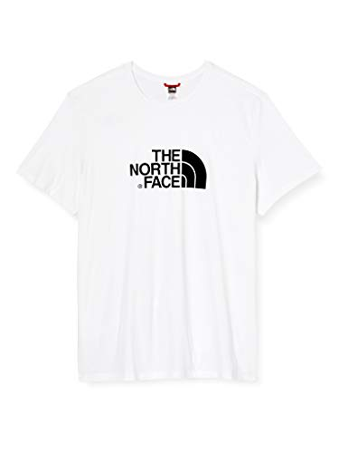 The North Face T92TX3 Camiseta Easy, Hombre, Blanco (Tnf White), L