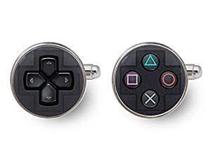 Manschettenknöpfe mit Playstation-Controller, Spiel-Video-Manschettenknöpfe