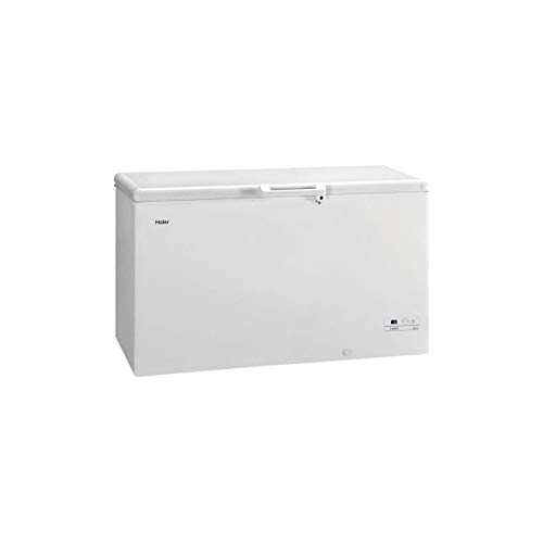 Haier HCE519R Freestanding Chest Freezer, 519 Litres, A +, White, 32kg/ 24h, SN-T