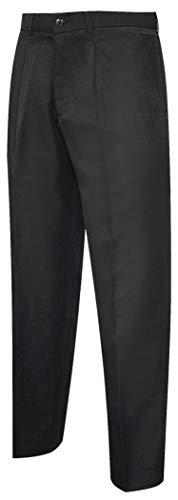 "MISEMIYA - PANTALÃ""N Camarero Caballero Barista COCTELERO Pantalon Chino Ref.804-44, Negro"