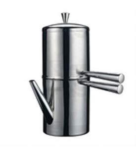 Cafetera Napolitana 15 cl 1/2 TZ con boquilla inoxidable 18/10 Chiskoit 0E6189