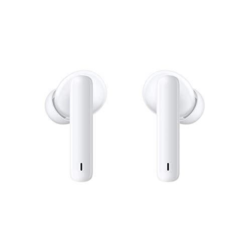 HUAWEI FreeBuds 4i - Auriculares inalámbricos con micrófono Dual, cancelación Activa de Ruido, Carga rápida, batería de Larga duración, Sonido, Color Blanco
