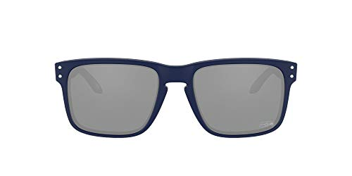 Oakley NFL Seattle Seahawks OO9102 Holbrook Oakley NFL 2020 Collection Matte Navy/Prizm Negro, 57 mm