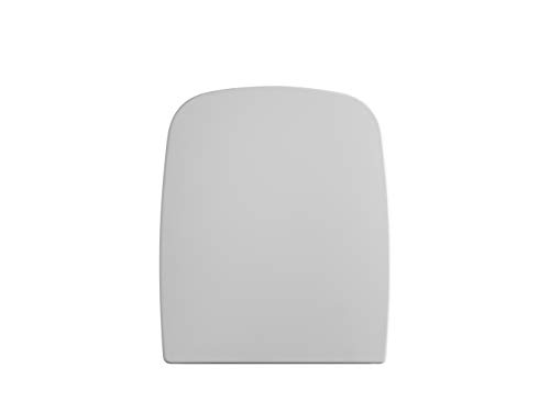 Gala G5132301 Tapa y Asiento Amortiguado para Inododo Colección Street Square, Acabado Blanco (Ref 51323), 37.5 x 4.5 x 45.5 cm