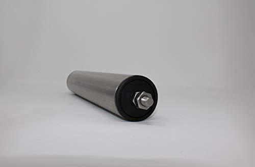 Tragrollen Tragrolle mit Außengewinde Edelstahl Rollenbahnen Ø 50 mm 10-115cm (Einbaulänge 20cm/Achslänge 23cm)