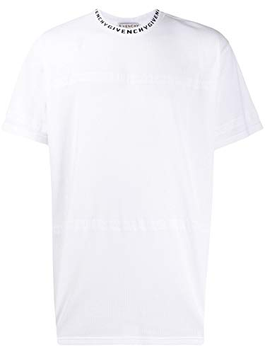 Givenchy Luxury Fashion Herren BM70UH30GG100 Weiss Polyester T-Shirt | Frühling Sommer 20