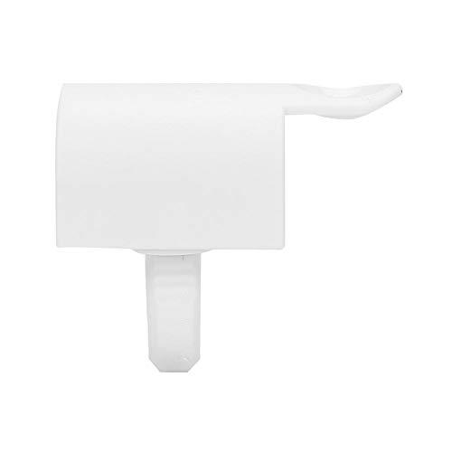 2 En 1 Séparateur D'extension de Cils Réutilisable Greffage Cils Porte-colle Anneaux Palette Outil de Maquillage(Séparateur en U emballé séparément)