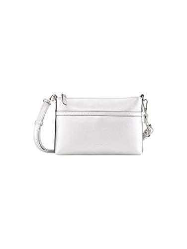TOM TAILOR Damen Taschen & Geldbörsen Clutch SAVONA silber/silver,OneSize,C014,0002
