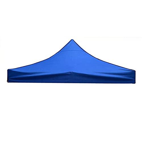 Gmjay Cubierta de Repuesto para Toldo Superior de Carpa Plegable Impermeable UV50 + para Refugio Solar para Acampar al Aire Libre Carpas Sombrillas,Blue,8x8ft