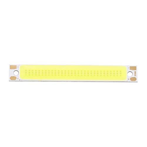 Tree-on-Life 3W Resaltar LED Light Strip 60x8mm COB Blanco cálido Blanco Azul...