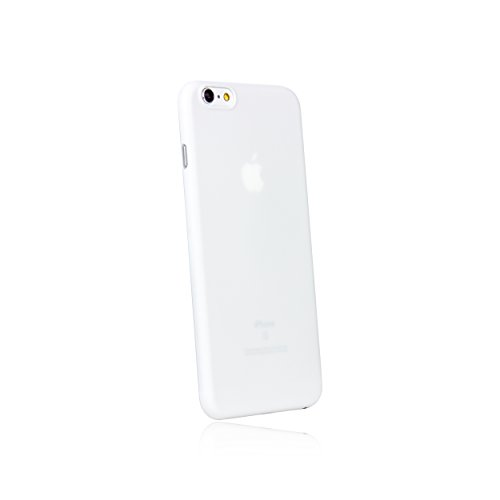 hardwrk Ultra-Slim Case - kompatibel mit Apple iPhone 6 Plus und 6s Plus - weiß - ultradünne Schutzhülle Handyhülle Cover Hülle in solid White
