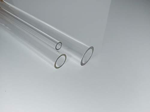 Tube Acrylique (plexiglass) XT 25 * 19 mm Longueur 1000 mm Transparente PMMA XT Tubes