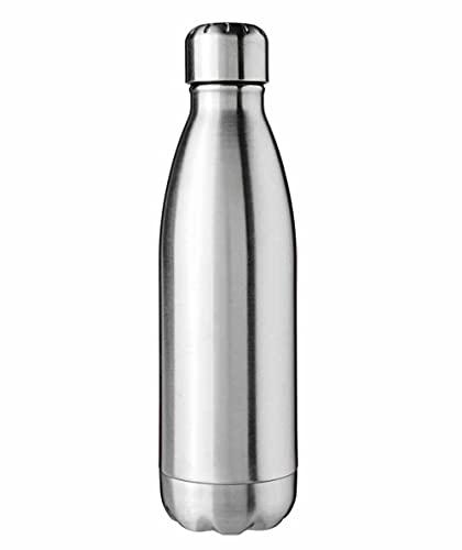 Bottiglia Borraccia Termica Thermos Doppia Parete in Acciaio Inox 12ore Caldo e 24ore...