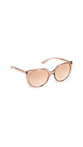 Ray-Ban 0DG6119 Occhiali da Sole, Rosa (Transparente Pink), 53 Donna
