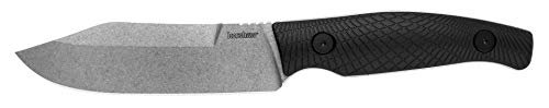 Kershaw Camp 5 Fixed Blade Knife, 4.75 Inch Blade, Full Tang (1083), Black