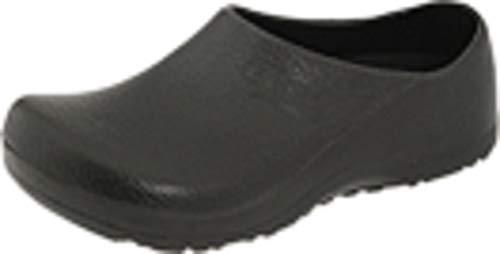 Birkenstock Professional Unisex Profi Birki Slip Resistant Work Shoe,Black,42 M EU
