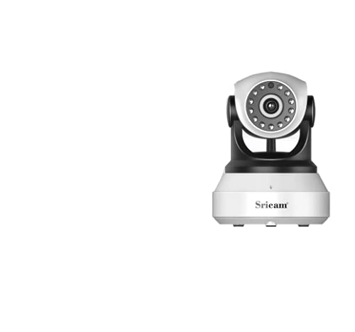 Caméra IP sans Fil, Sricam 1080P WiFi Caméra Surveillance Détection de Night...