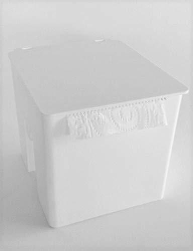 Bathroom Tissue Roll Holder and Toilet Paper Dispenser