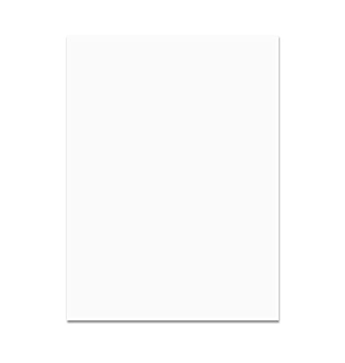 Sax Heavy-Weight Art Paper - 100% Sulphite, 130 gsm, 9 X 12 Inches, White, Pack of 50