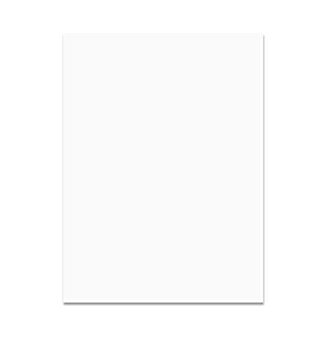 folia 6300 - Tonpapier weiß, DIN A3, 130 g/qm, 50 Blatt - zum Basteln und kreativen Gestalten von Karten, Fensterbildern und für Scrapbooking