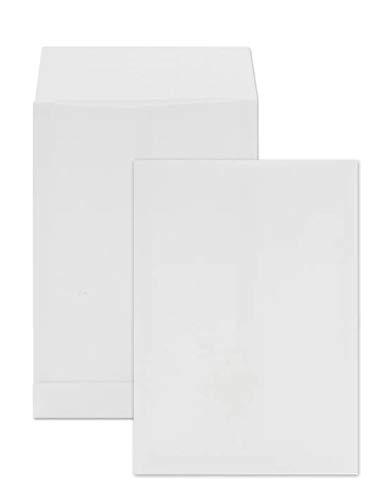 Netuno 50 buste a saccobianchecon soffietto formato C4 229x 324 mm 120g buste a soffiettochiusura adesiva buste per spedizioni con fondo quadrato