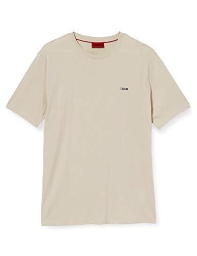 HUGO Mens Dero203 T-Shirt, Medium Beige(261), M