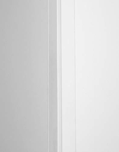 BODENMEISTER BMTIW20 Tapeteninnenwinkel Tapeteneckleiste Kunststoffwinkel, Innenwinkel, Weiß, 260 cm