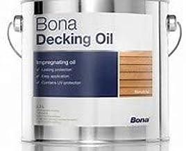 Bona Decking Oil kleurloos, 2,5 liter