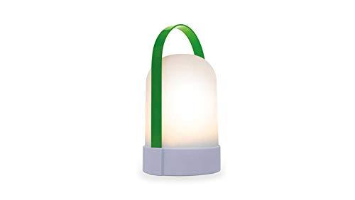 Remember Unisex– Erwachsene Claudine Leuchte, grün, 24,8 cm
